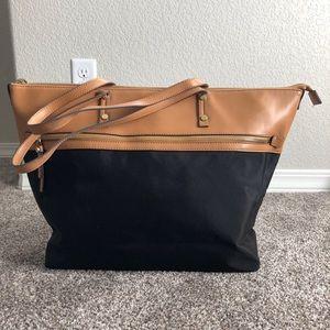 Merona spacious tote bag